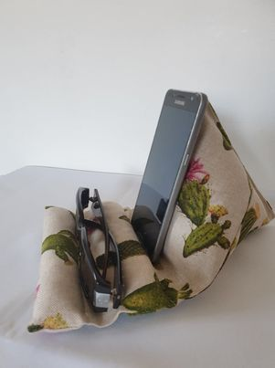 SUPPORT TELEPHONE LUNETTE CACTUS